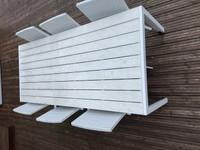 Puutarhakalusteet pöytä 6kpl tuolit
