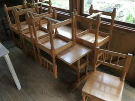 Pirttipöytä ja tuolit 6kpl, Pöydät ja tuolit, Sisustus ja huonekalut, Seinäjoki, Tori.fi