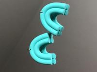 Sateenkaari korvakorut (custom)