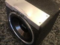 Kicx aktiivisubwoofer 250/500W