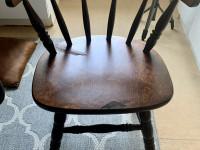 Puinen napakka tuoli 71x54 istuin k44