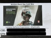 Call of Duty aktivointikoodi
