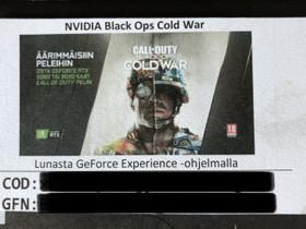 Call of Duty aktivointikoodi, Pelit ja muut harrastukset, Helsinki, Tori.fi