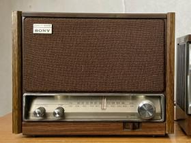 Sony ICF-9640W vintage FM/AM radio, Audio ja musiikkilaitteet, Viihde-elektroniikka, Pietarsaari, Tori.fi