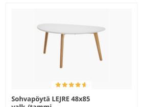 O: Jysk lejre sohvapöytä 85cm, Pöydät ja tuolit, Sisustus ja huonekalut, Helsinki, Tori.fi