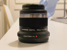 Olympus M.Zuiko 45mm f1.8 + suodin, Objektiivit, Kamerat ja valokuvaus, Jyväskylä, Tori.fi