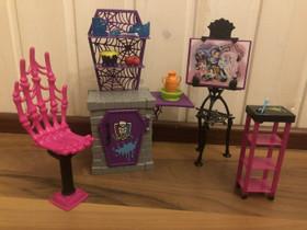 Monster High huonekalusetti, Lelut ja pelit, Lastentarvikkeet ja lelut, Jyväskylä, Tori.fi