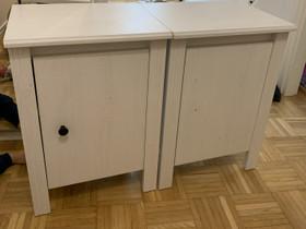 2 x vaalea yöpöytä, Sängyt ja makuuhuone, Sisustus ja huonekalut, Espoo, Tori.fi