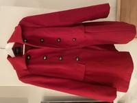 Lindex punainen takki 42