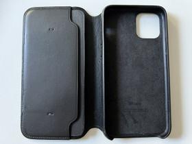 Apple iPhone 11 Pro musta nahkakotelo, Puhelintarvikkeet, Puhelimet ja tarvikkeet, Espoo, Tori.fi