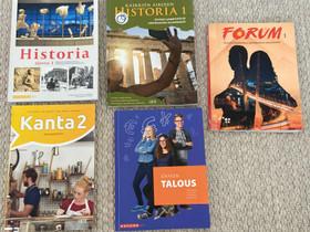 Lukio hissa 1 ja taloustieto, pääsykoekirjat, Oppikirjat, Kirjat ja lehdet, Vaasa, Tori.fi
