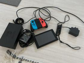 Nintendo Switch, Pelikonsolit ja pelaaminen, Viihde-elektroniikka, Lappeenranta, Tori.fi