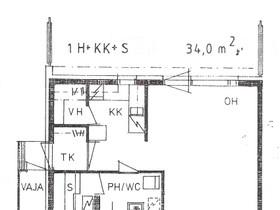 1H, 34m², Puravuorentie, Kuru, Vuokrattavat asunnot, Asunnot, Ylöjärvi, Tori.fi