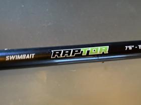 BFT Raptor 76 150g haukivapa, Kelat, vavat ja onget, Metsästys ja kalastus, Kuopio, Tori.fi