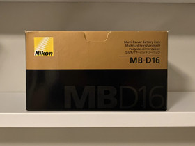 Nikon MB-D16 akkukahva, Valokuvaustarvikkeet, Kamerat ja valokuvaus, Kokkola, Tori.fi