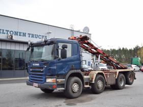 Scania P340 8x2 Vaijeriauto, Kuljetuskalusto, Työkoneet ja kalusto, Turku, Tori.fi
