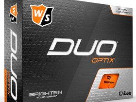 Duo Optix Orange 12-Ball - golfpallo - Wilson, Muut, Helsinki, Tori.fi