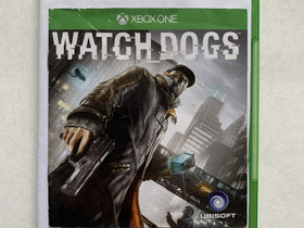 Watch Dogs Xbox One JNS, Pelikonsolit ja pelaaminen, Viihde-elektroniikka, Joensuu, Tori.fi
