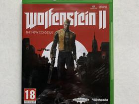 Wolfenstein 2 Xbox One JNS, Pelikonsolit ja pelaaminen, Viihde-elektroniikka, Joensuu, Tori.fi