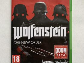 Wolfenstein: The New Order Xbox One JNS, Pelikonsolit ja pelaaminen, Viihde-elektroniikka, Joensuu, Tori.fi
