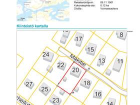 Kaarina Kuusisto Mäkitie 20, Tontit, Kaarina, Tori.fi