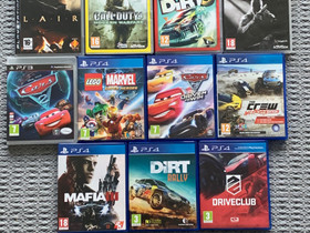 Edullisia PS3 ja PS4 pelejä, Pelikonsolit ja pelaaminen, Viihde-elektroniikka, Seinäjoki, Tori.fi