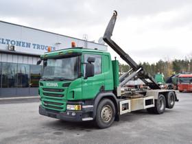 Scania P360 6x2 Euro 6 Koukkuauto, Kuljetuskalusto, Työkoneet ja kalusto, Turku, Tori.fi