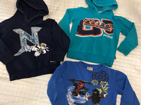 3 kpl 104 cm lego ninjago paitoja, Lastenvaatteet ja kengät, Pori, Tori.fi