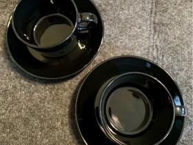 Iittala Arabia Teema kahvikupit ja -tassit (2kpl), Kahvikupit, mukit ja lasit, Keittiötarvikkeet ja astiat, Lappeenranta, Tori.fi