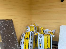 Isover premium 33 mineraalivilla, Eristys ja katot, Rakennustarvikkeet ja työkalut, Riihimäki, Tori.fi