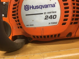 Husgvarna 240 E-series, Metsäkoneet, Työkoneet ja kalusto, Tyrnävä, Tori.fi