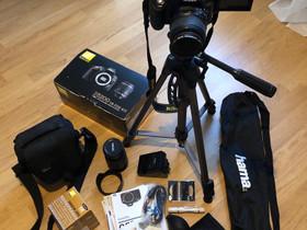 Vähän käytetty Nikon D5200 kamera, Kamerat, Kamerat ja valokuvaus, Oulu, Tori.fi