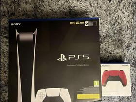 PS5 Digital Edition, Pelikonsolit ja pelaaminen, Viihde-elektroniikka, Virrat, Tori.fi