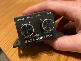 Bass Control Subwooferille, Audio ja musiikkilaitteet, Viihde-elektroniikka, Lappeenranta, Tori.fi