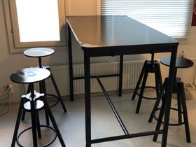 Baari pöytä ja tuolit, Pöydät ja tuolit, Sisustus ja huonekalut, Mikkeli, Tori.fi