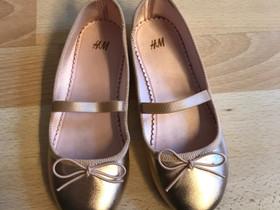 H&M ruusukultaiset ballerinat 31, Lastenvaatteet ja kengät, Kotka, Tori.fi