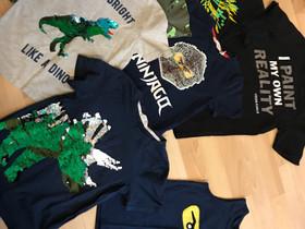 Pakettina t-paidat 122/128cm, Lastenvaatteet ja kengät, Kotka, Tori.fi