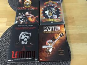 Rock -dvd 4 kpl, Musiikki CD, DVD ja äänitteet, Musiikki ja soittimet, Jyväskylä, Tori.fi