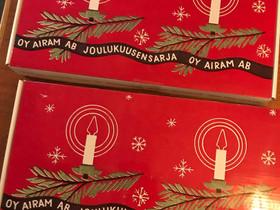 2x Airam joulukuusen valosarja, Valaisimet, Sisustus ja huonekalut, Vantaa, Tori.fi