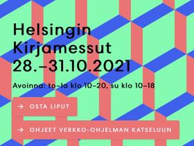 Lippu Hgin Kirjamessuille, Keikat, konsertit ja tapahtumat, Matkat ja liput, Helsinki, Tori.fi