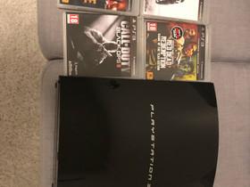 Playstation 3, Pelikonsolit ja pelaaminen, Viihde-elektroniikka, Hämeenlinna, Tori.fi