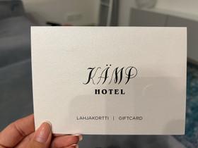 Lahjakortti Kämp Collection Hotels, Keikat, konsertit ja tapahtumat, Matkat ja liput, Nurmijärvi, Tori.fi