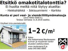 1000m², Karikko, Rautavaara, Tontit, Rautavaara, Tori.fi