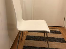 Kaksi valkoista tuolia, Pöydät ja tuolit, Sisustus ja huonekalut, Turku, Tori.fi