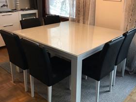 Ruokapöytä ja tuolit, Pöydät ja tuolit, Sisustus ja huonekalut, Rovaniemi, Tori.fi
