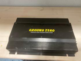 Ground Zeron 1000 wattinen vahvistin, Muu viihde-elektroniikka, Viihde-elektroniikka, Lahti, Tori.fi
