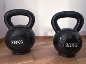 Kahvakuulat 20 & 28kg, Kuntoilu ja fitness, Urheilu ja ulkoilu, Helsinki, Tori.fi