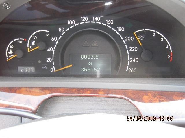 HIENO MERSEDES-BENZ S320 CDI 6900 6