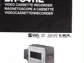JVC BR- S411E user manual, Muu viihde-elektroniikka, Viihde-elektroniikka, Espoo, Tori.fi