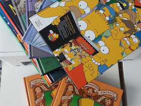 Simpsons-kirjat, Sarjakuvat, Kirjat ja lehdet, Kangasniemi, Tori.fi